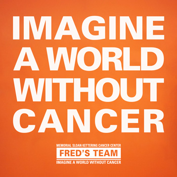 Imagine a World Without Cancer - Shareable social media image